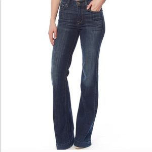 7 for all Mankind Ginger Flare Jeans Sz 29
